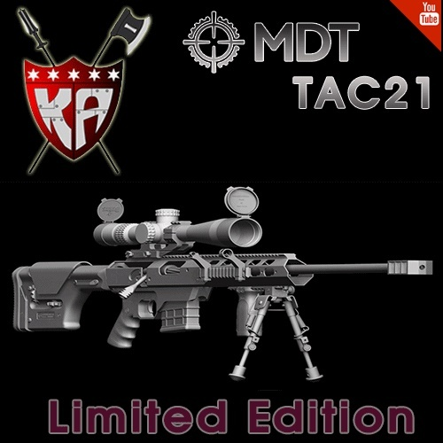 MDT TAC21 - BK / Limited Edition