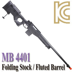 MB 4401 / Folding Stock & Fluted Barrel