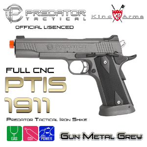 Predator Tactical Iron Shrike 1911 / GY