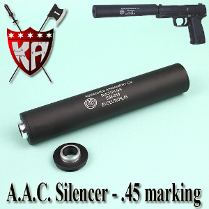 A.A.C Silencer-4.5 Marking