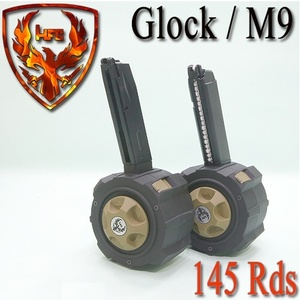 HFC Gas Drum Magazine (Glock/M9)